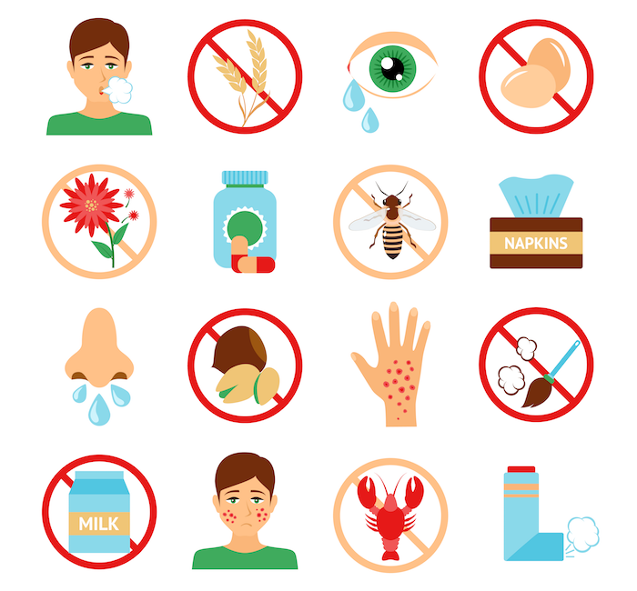 Allergie Icons