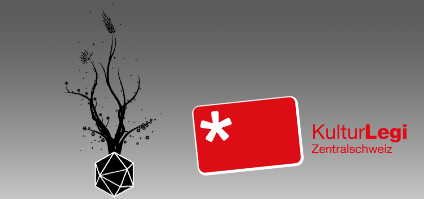 Logo KulturLegi Zentralschweiz neben Praxis-Logo