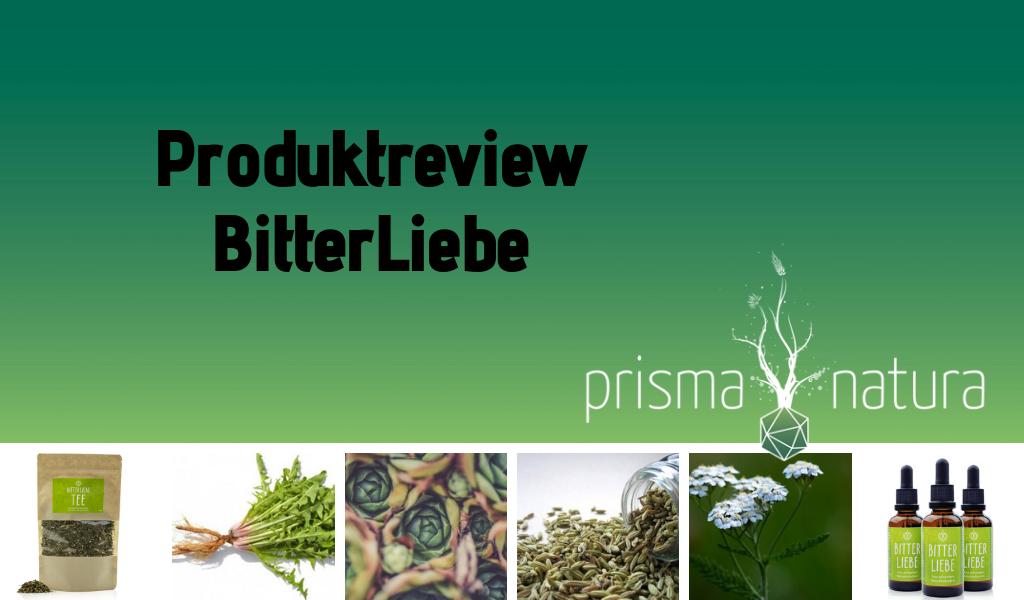 Blogtitelbild Produktreview BitterLiebe
